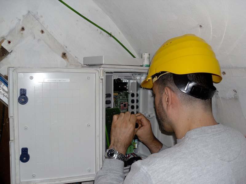 Sistema di monitoraggio per la galleria collettrice delle Sorgenti del Peschiera