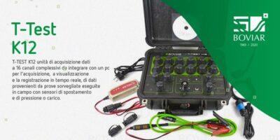 Il T-Test K12 wireless di Boviar per il collaudo del Ponte di Genova San Giorgio